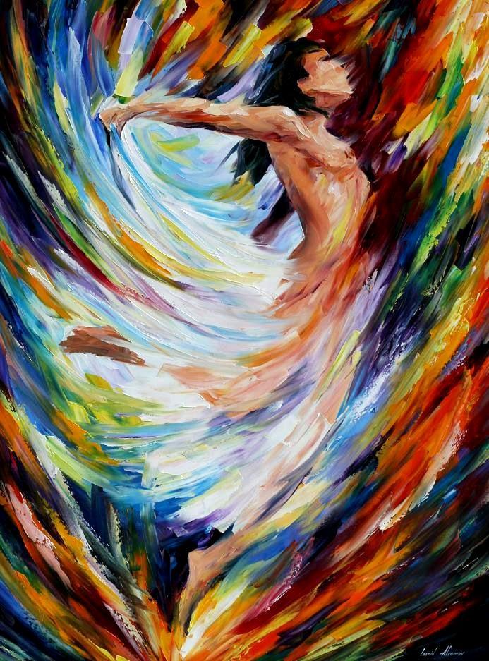 'Angel Flight' by Leonid Afremov
